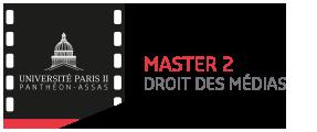 Logo footer master 2 droit des médias